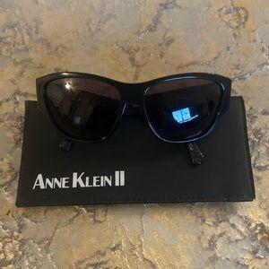 Anne Klein Black Sunglasses